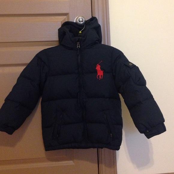 8a3b605f8 Polo by Ralph Lauren Jackets & Coats   Youth Boys Polo Coat   Poshmark