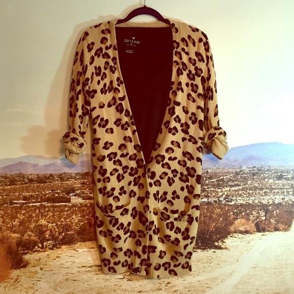 47% off PINK Victoria's Secret Sweaters - VS PINK leopard print ...