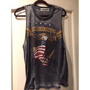Urban Outfitters Project Social  American Tank