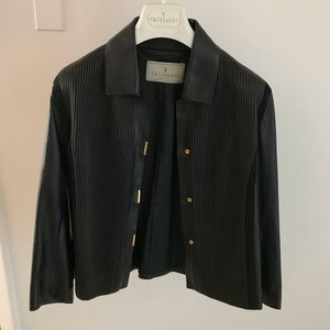 Trussardi Leather Jacket