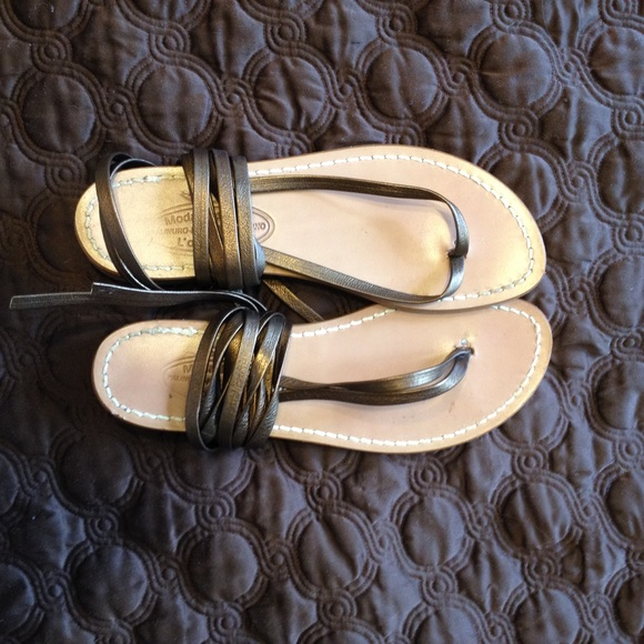 4f94ab3bb2b4 Bronze Moda Positano lace up gladiator sandal. M 55b27be794aeb26fb800af71