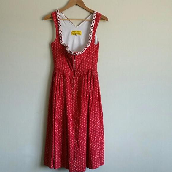 Red Dirndl Dresses