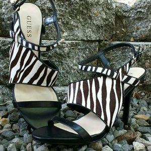 Guess Shoes - ☆2×HP☆ Guess Sexy Zebra Heels