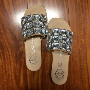Jeffrey Campbell Shoes - Jeffery Campbell jeweled sandals