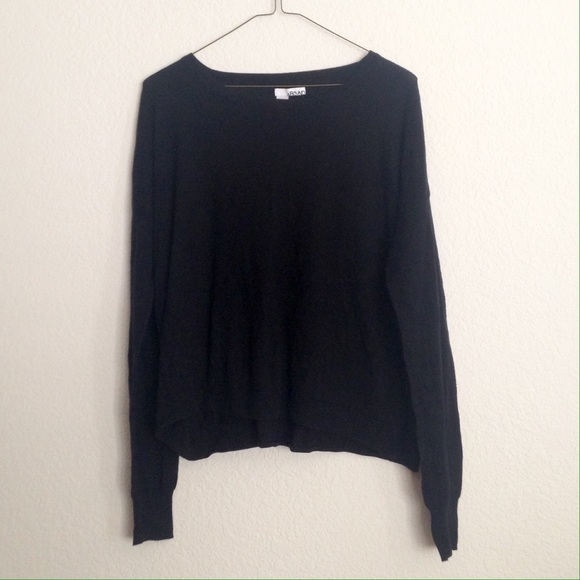88% off Abound Sweaters - ❌TRADED❌Thin Black Sweater from ...