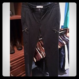 Michael Kors Stretchy Pants with Side Zips