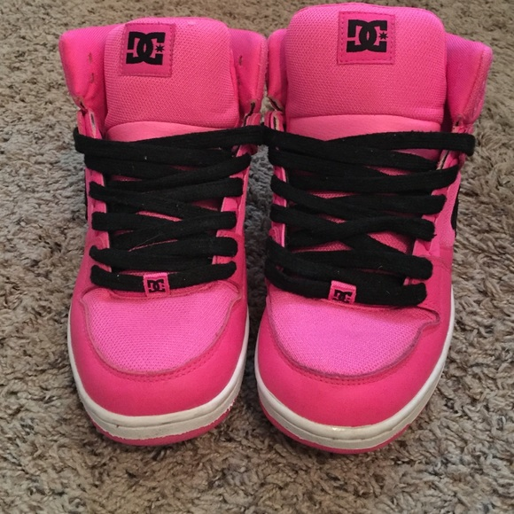 DC Shoes | Dc Hot Pink Skate Shoes