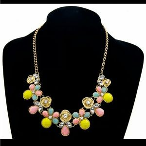 FINAL SALE  statement necklace
