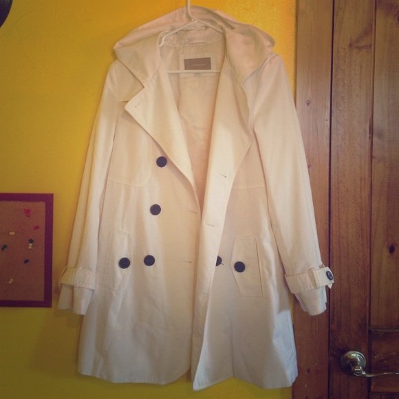 60% off Croft & Barrow Jackets & Blazers - White dressy rain ...