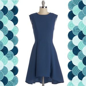 Blue High-Low Dress from ModCloth