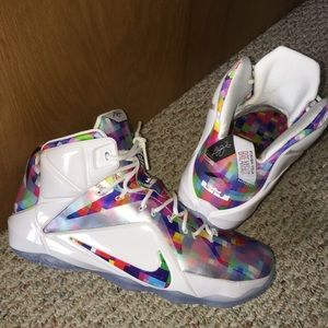 buy online 6636d 6ee3c Nike Shoes - lebron 12 finish your breakfast
