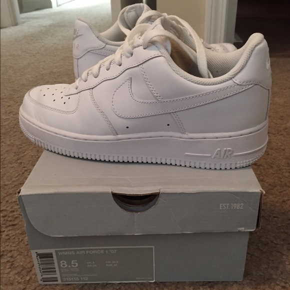 white air force 1 size 8