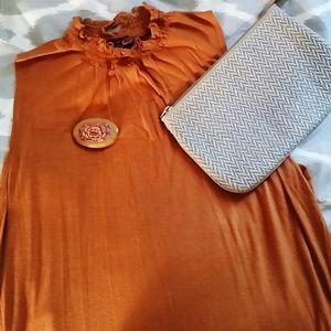 Lightweight sleeveless knit top