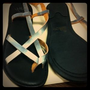 La hearts for pacsun sandals NWOT size 7