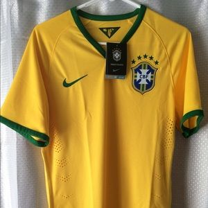 Nike Authentic Brazil Jersey