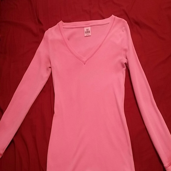 82% off Victoria's Secret Tops - Love pink long sleeve shirt from ...
