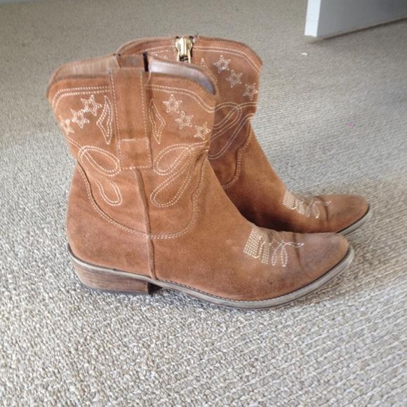 77% off Boutique 9 Boots - Boutique 9 Jolisa Cowboy Boots Bootie ...