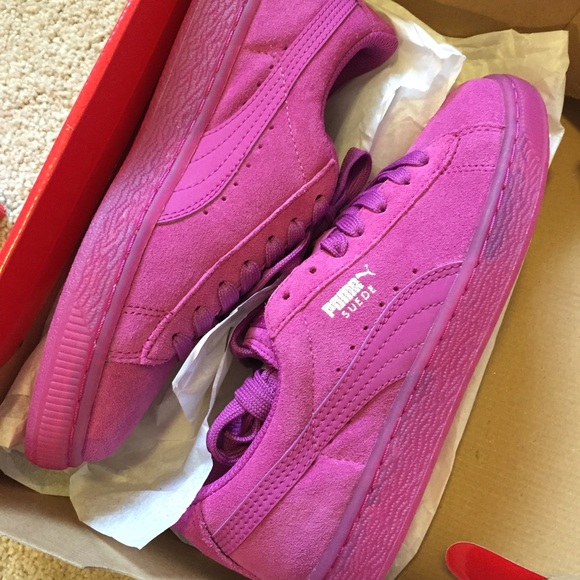 best sneakers 58240 ad402 Puma classic suede iced NWT