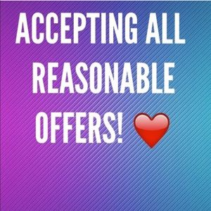 ACCEPTING ALL REASONABLE OFFERS!!!