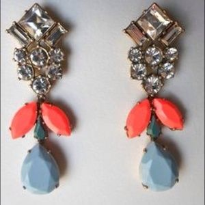 J. Crew CRYSTAL SKY EARRINGS - NWT