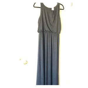 NWT grey maxi dress - 48 hours sale only