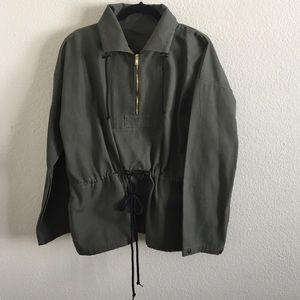 AA Olive Pullover Jacket