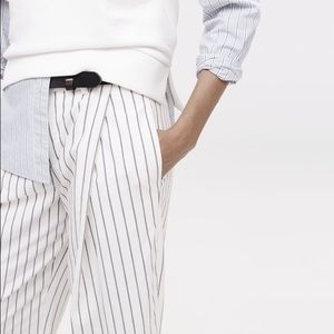 Madewell Pants - Madewell striped Bryant trouser