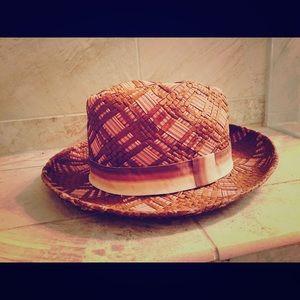 Fedora brown hat