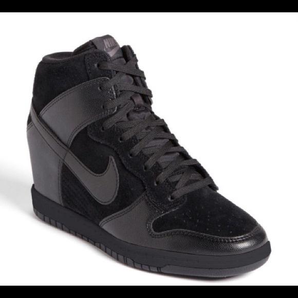 fe93c638aa3a Women s Nike Black Dunk Sky Hidden Wedge Sneaker. M 55b2ef69f9591e0e1d000e73