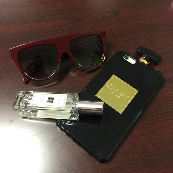 90c29385a32  Sale  Chanel iPhone 6 Plus Black Phone Case