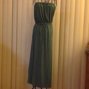 J. Crew Dresses & Skirts - 🐠🐠🐠J. Crew turquoise maxi dress🐠🐠🐠