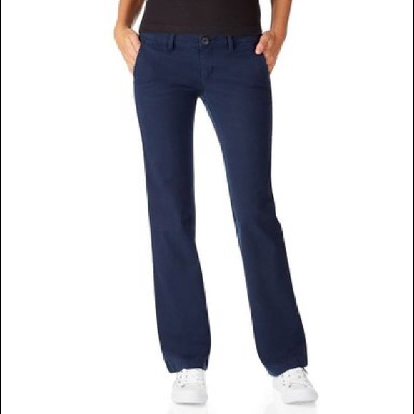 78% off Aeropostale Pants - 💟Navy Blue Khaki Pants Sz 5/6 from ...