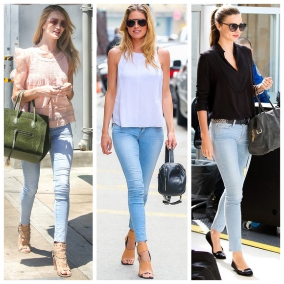 frame denims le skinny de jeanne jeans nwt