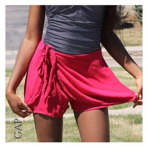 GAP Other - 🎊Host Pick (Sz XS) GAP NWT Red Sarong Shorts