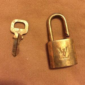 9ecf1a66e043 Louis Vuitton Bags - LV Louis Vuitton lock and key set No 316