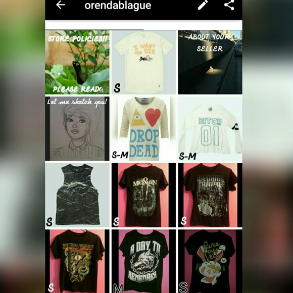 312cf571f57c Im selling a bunch of stuff in an app called depop