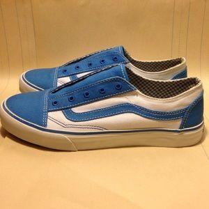 vans old skool french blue