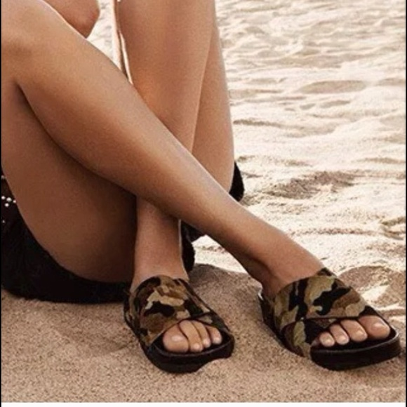 d036857f8778 Sam Edelman Adora Camouflage Slip On Sandals
