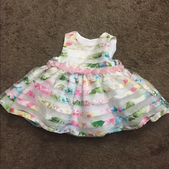 60% off Other - Baby girl flower spring dress/church dress from ...