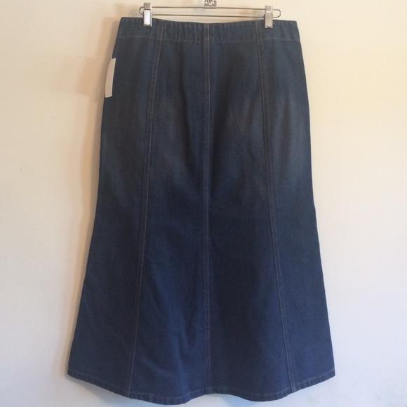 gap nwt gap denim skirt from lesley s closet on poshmark