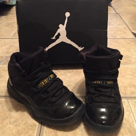 Air Jordan 11 Gamma's preschool size 11