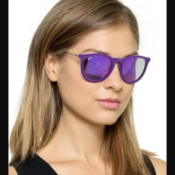 3dd13a225b Purple VELVET Authentic Ray Ban Sunglasses