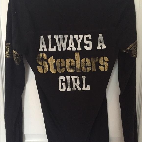 pink steelers shirt ladies