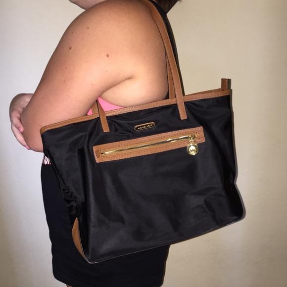 561b386eaffe Michael Kors Bags   Authentic Black Brown Mk Purse   Poshmark