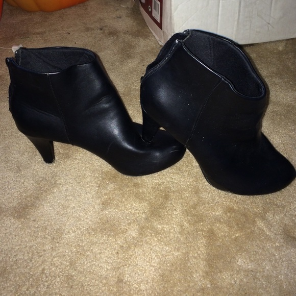 7940b0f1a6 Jaclyn Smith Shoes | High Heel Ankle Boots Size 11 W | Poshmark