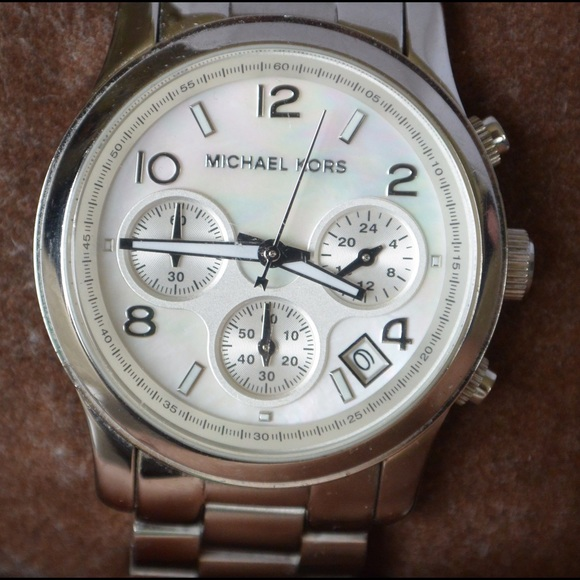 michael kors watch manual chronograph