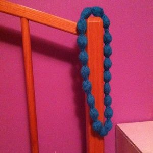 handmade by me Accessories - Knitted bubble-string necklace