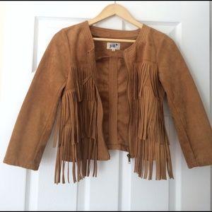 Jolt Jackets & Coats - ✨SOLD✨BRAND NEW Suede Fringe Jacket