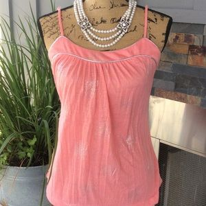 Tops - 💕🎀pink sparkly top🎀💕