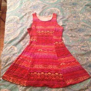 Dresses & Skirts - SKATER DRESS (Tribal print)